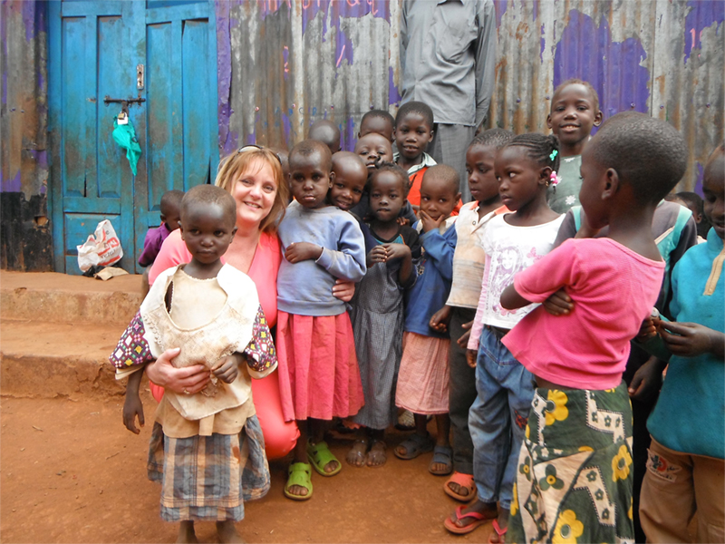Kawangare slum in Nairobi, Kenya triggered a transformation that reinvigorated a new Colleen